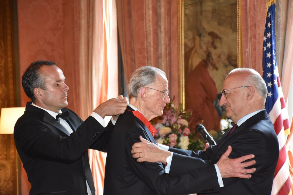 William Rhodes awarded with the Legion of honor by France on June 30th, 2021